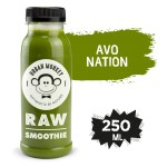 RAW SMOOTHIE AVO NATION 250 ML URBAN MONKEY