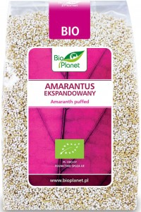 Amarantus ekspandowany BIO 100 g Bio Planet